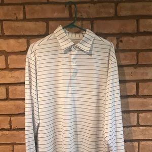 Donald Ross long sleeve golf polo
